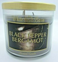 Bath & Body Works 14.5 oz 3-wick Candle lavender Black Pepper Bergamot - $46.99