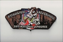 Potawatomi Area Council 2017 National Jamboree JSP (D) - $4.95