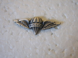 Army Rigger Qualification Badge Mini Size Nip By Vanguard Nos - $6.00