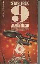 Star Trek 9 ORIGINAL Vintage 1978 Paperback Book James Blish - $14.84