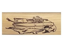 Classic Status Stamps Car Boat Rubber Stamp