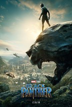 "Black Panther Movie Poster 2018 Chadwick Boseman Film Print 14x21"" 27x40... - $10.90+"