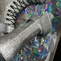 Wut? sickening CRYSTAL TRAITOR BOOTS SIZE 10 IN HAND! Ships Today! image 3