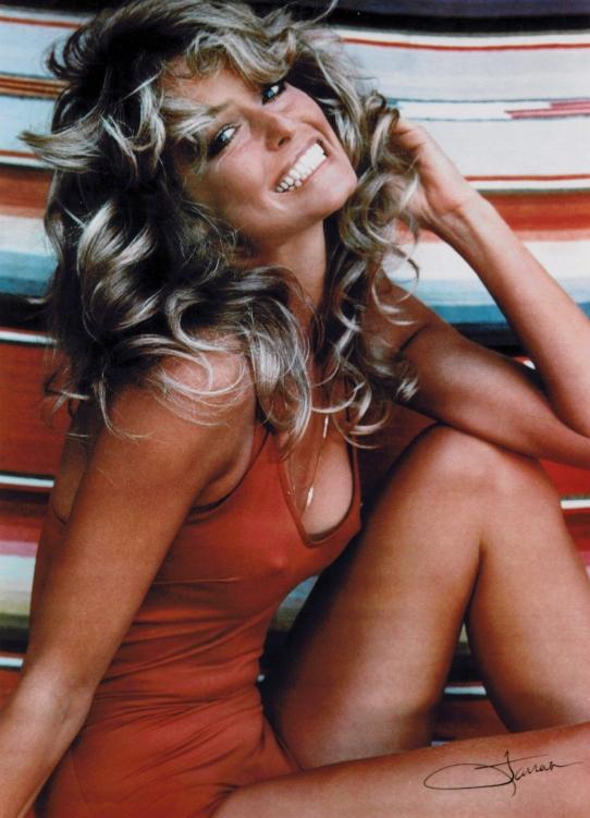 Farrah fawcett swimsuit poster image