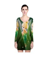 Tinker Bell Cute Long Sleeve Bodycon Dress - $19.99+