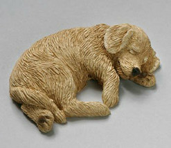 Sandicast Small Size Statue - Golden Retriever - Snoozer (SZ131) - $14.24