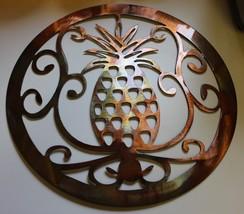 Ornamental Pineapple Metal Wall Art - $36.99