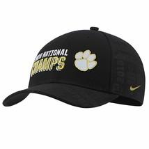 e3b8c210f Nike Clemson Tigers 2018 National Champions Locker Room Adjustable Cap Hat  $32 - $14.84