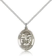 Women's Bliss Sterling Silver San Miguel Arcangel Medal Pendant  - $49.50