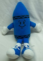 "Vintage Crayola Blue Crayon Character 15"" Plush Stuffed Animal Toy - $19.80"