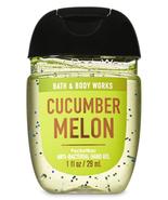 Bath & Body Works Cucumber Melon Pocketbac Hand Sanitizer Anti-Bacterial... - $3.87