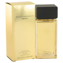 Donna Karan Gold Sparkling Perfume 3.4 Oz Eau De Toilette Spray  image 4