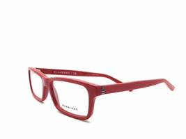 BURBERRY B 2187 3364 RED FRAMES EYEGLASSES 53mm - 80 - $61.69