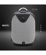 Anti-Theft Backpack Coded Lock 15inch Laptop Bag Men USB Port Water Resi... - $81.08