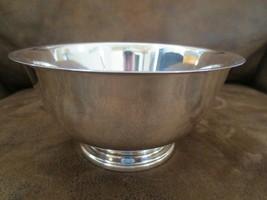 "Paul Revere Reproduction Silverplate Bowl 6"" - $22.10"