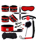 Cytherea 10PCs/set-SM-Toy-Handcuffs-Cuffs-Strap-Whip-Rope-Neck-Bandage-R... - $22.99