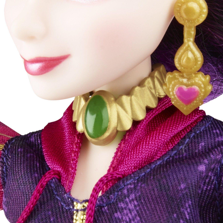 Image 4 of Disney Descendants Genie Chic Villain Mal Doll in Purple, Hasbro, 6+
