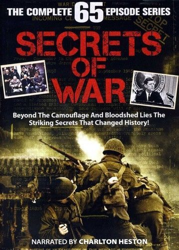 Secrets of War: The Complete Series [13 Discs] DVD Set TV Show History