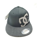 DC Shoes Flexfit Fitted Hammering Black Hat Mens Size S/M - $25.04