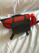 Pre-owned Outward Hound Orange And Gray Life Jacket For Dogs Size Small - $19.99