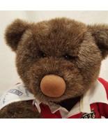 """Teddy Bear Plush Stuffed Animal 13"""" Gund Lands End 1994 Rugby - $32.56"""