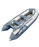 BRIS 9.8 ft Inflatable Boat Dinghy 4 Person Pontoon Boat Tender Fishing ... - $969.00