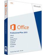 Microsoft office 2013 professional plus - $29.97