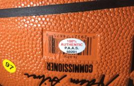 STEPH CURRY & KLAY THOMPSON / DUAL AUTOGRAPHED NBA LOGO FULL SIZE BASKETBALL COA image 6