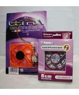 2 Computer Box Fans ~ NIB ~ 80mm - $11.39