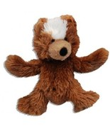 KONG Teddy Bear Dog Toy, Extra Small, Brown - £11.12 GBP