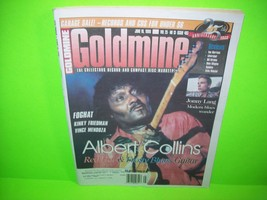 albert Collins Cover Goldmine Magazine 1999 Issue Rock Blues Foghat Jonn... - $9.22