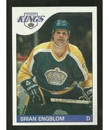 1985-86 TOPPS SET BREAK #5 BRIAN ENGBLOM KINGS NM-MT FREE SHIPPING  - $2.99