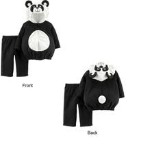Carters Panda Halloween Costume Size 12 Months Boy or Girl 2 Piece Set - £15.62 GBP