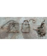 Antique Animal Traps (Lot of 3) - $48.15