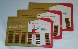 Vintage Beauty Maid Bob Bobby Pins 3 Packs of 60 pcs USA - $18.66