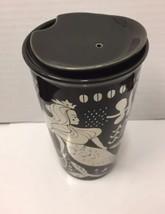 Starbucks Siren Tumbler Coffee Mug 2017 Ceramic Black Silver New - $59.39