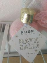 3 LOT Prep Your Skin Bath Salts+angel  sponge Crystal Bath Salts 6 oz Each image 3