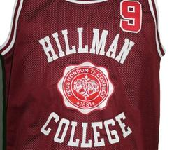 A Different World Dwayne Wayne Hillman College Basketball Jersey Maroon Any Size image 4