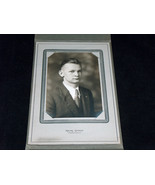 VTG Early-Mid-Century Mains Studio Young Man 4X6 Black & White Photo Pic... - $13.64