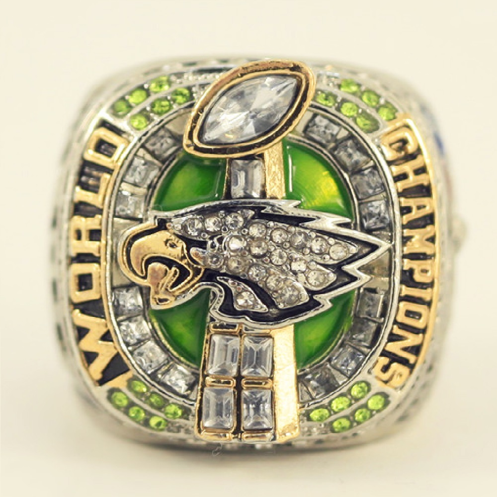 Ring PHILADELPHIA EAGLES SUPER BOWL LII - Version FOLES Championship 2018 NEWEST- Football-NFL