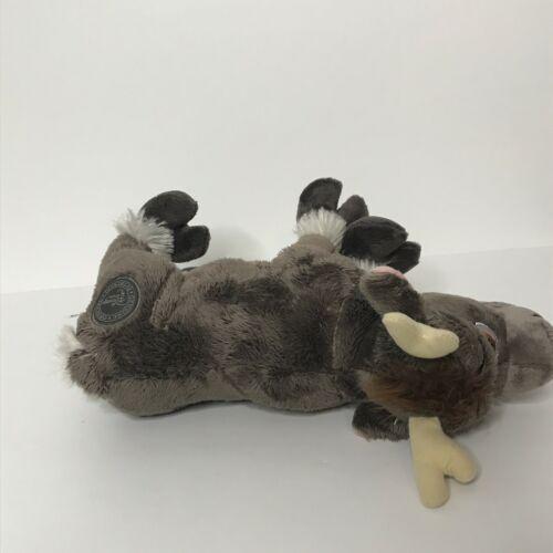 "Disney Store Sven From Frozen Plush Stuffed Animal 11"" Long image 6"