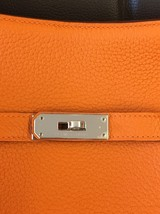 Authentic HERMES Taurillon Clemence Jypsiere Gypsy 28 Shoulder Bag NEW image 14