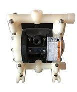 "Double Diaphragm Air Pump PII.38 Chemical Industrial Polypropylene 3/8"" ... - $277.19"