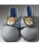 Baby Girl's Boy's Size NB Newborn Infant Toddler Carter's Blue Bear Crib... - $11.50