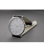 Minimalist Watches with Long Stripe Watch, Slim Watches for Men - $49.00