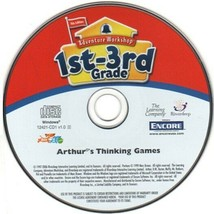 Arthur's Thinking Games (PC-CD, 2006 Edition) for Windows - NEW CD in SL... - $6.98