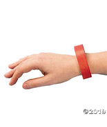 Red Self-Adhesive Wristbands - $11.61