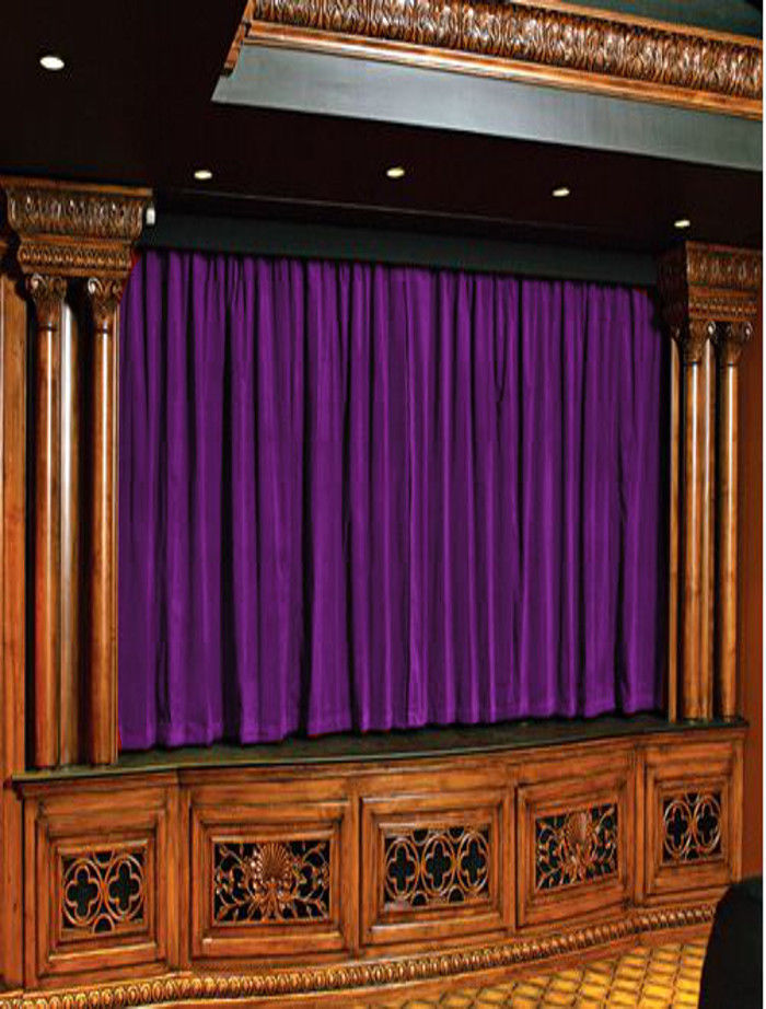 Primary image for Berry Vintage Style 100% Velvet Curtain Single Panel for Stage/Theatre/Studio