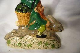 Vaillancourt Irish Santa Gnome Riding Rabbit Personally signed by Judi! image 3