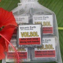 Volcanic Earth. VolSol Workers Soap Pack.  - $10.63